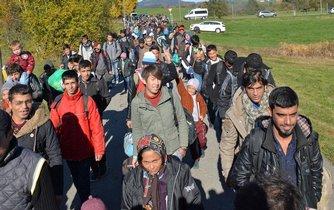 Migranti, ilustrační foto