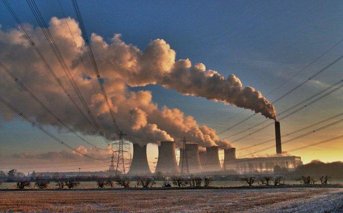 Britská uhelná elektrárna Eggborough