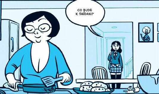 Z komiksu Anin duch