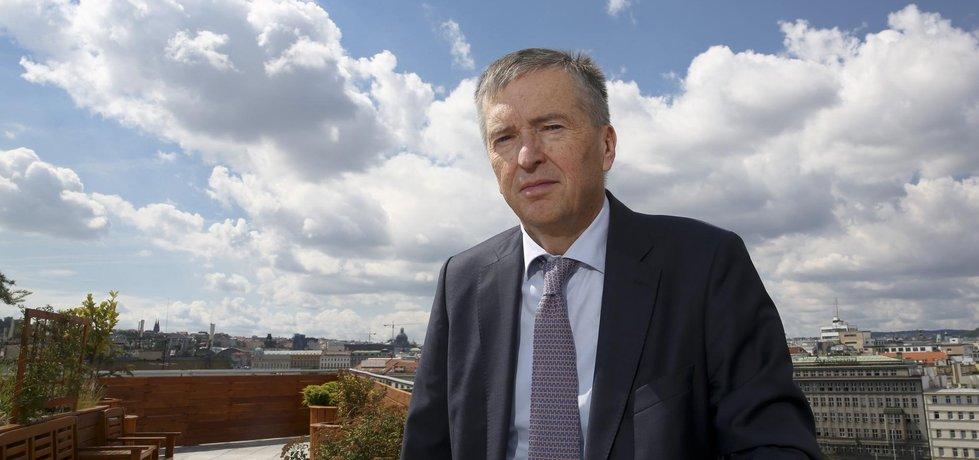 Jan Žůrek, šéf české pobočky KPMG(Autor: Tomáš Novák/Euro)