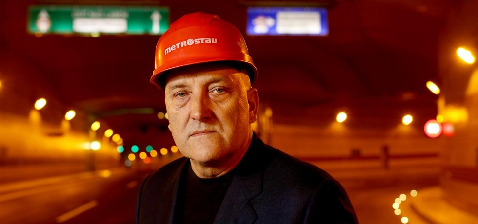 Šéf Metrostavu Jiří Bělohlav