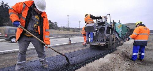 oprava dálnice