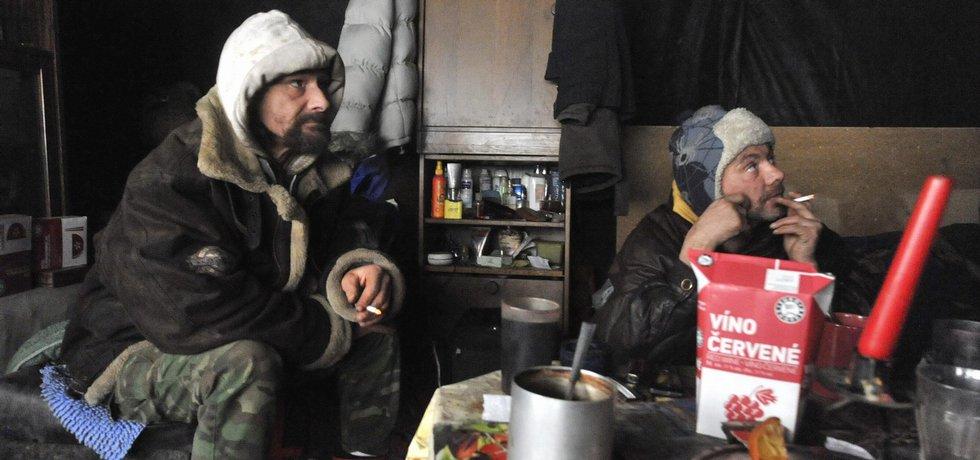 Ilustrační foto bezdomovců
