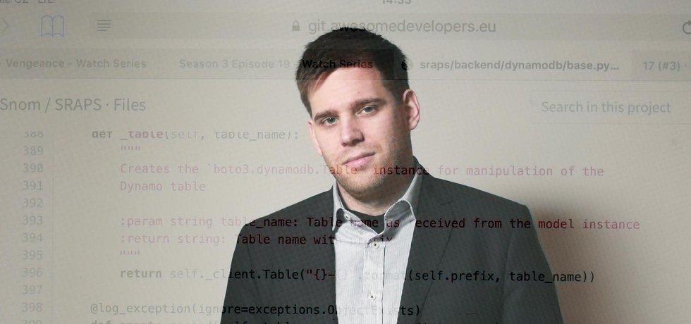 Tomáše Pleška (28) na IT baví, že může řešit nové a složité problémy.