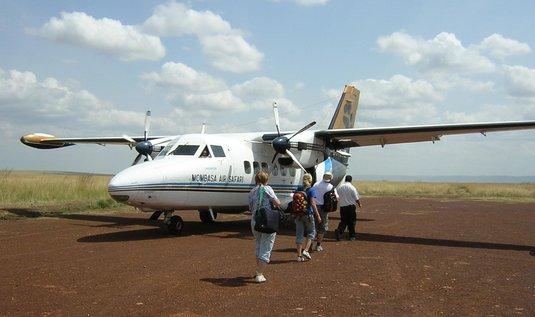 L-410 Turbolet společnosti Mombasa Air