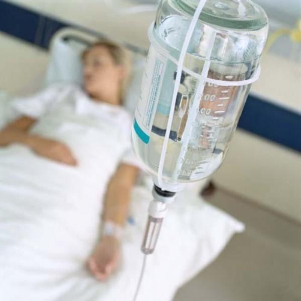 kapačka, infuze, pacientka, nemocnice