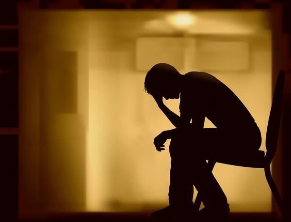 pacient, deprese, únava, chodba