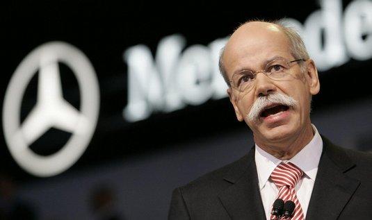 šéf automobilky Mercedes Dieter Zetsche