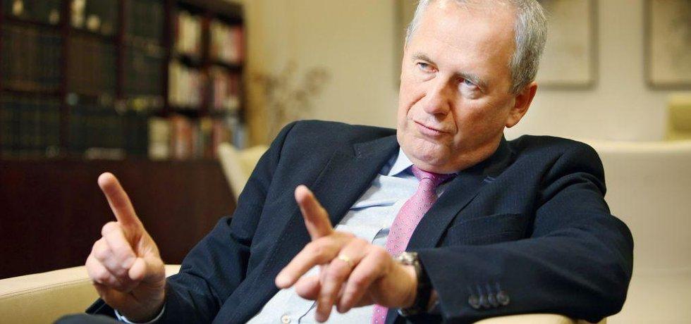 Předseda Nejvyššího správního soudu Josef Baxa