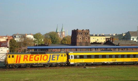 RegioJet v Ostravě