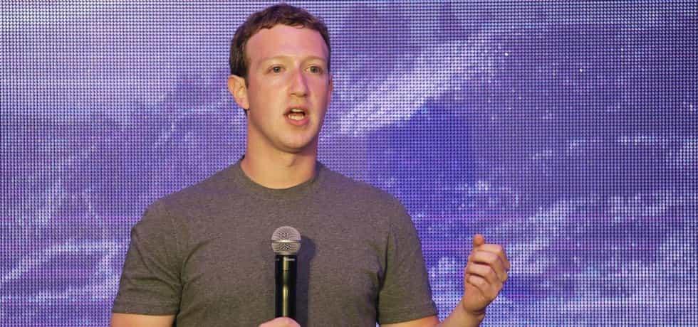 Šéf internetové sociální sítě Facebook Mark Zuckerberg