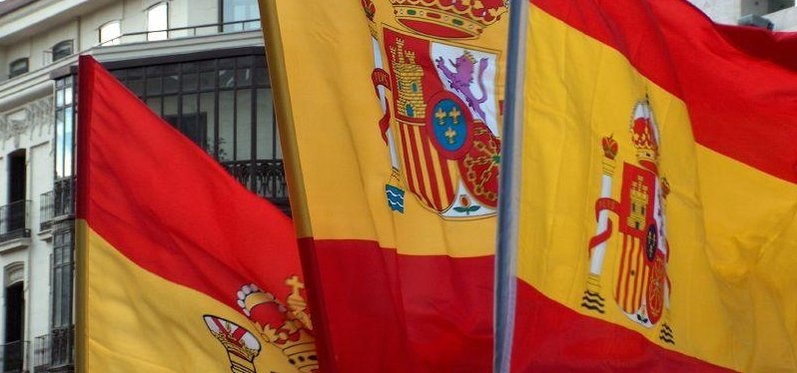 Španělské vlajky v Madridu (Autor: Contando Estrelas, CC BY-SA 2.0, Flickr)