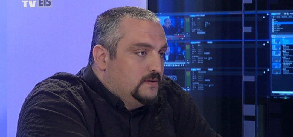 Jiří Kubíček v Euro E15 TV