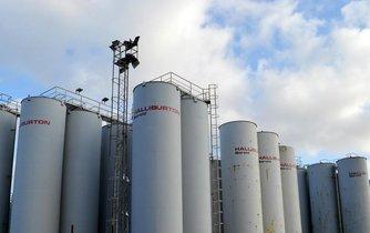 Rezervoáry společnosti Halliburton