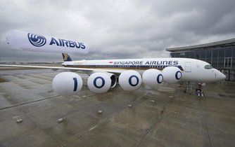 Airbus A350-900 pro singapurské aerolinie