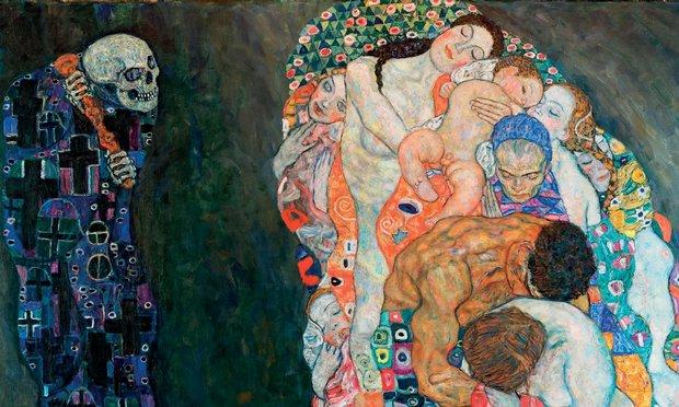 Gustav Klimt, Život a smrt