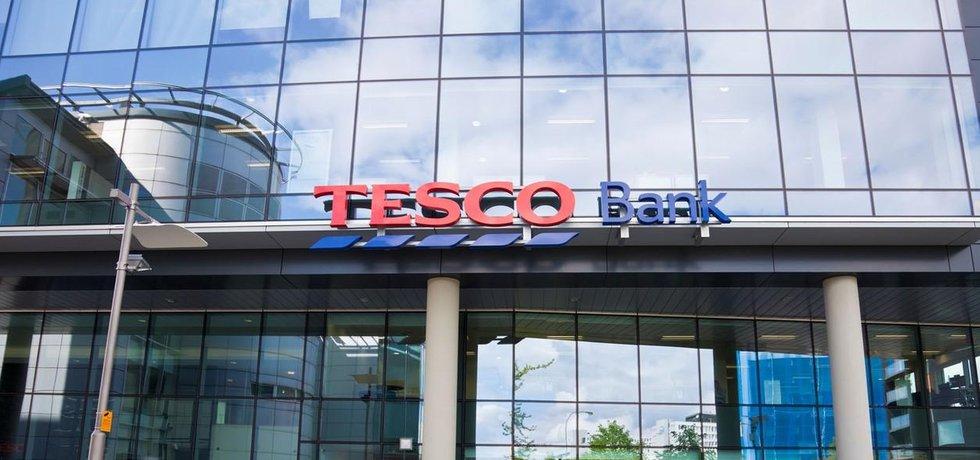 Pobočka Tesco Bank ve centru skotského Glasgow