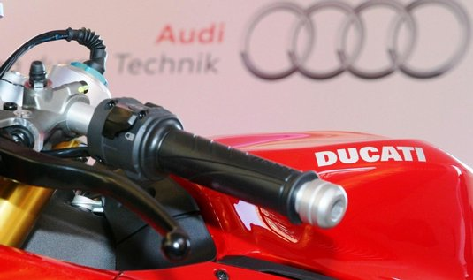  Firmy Audi a Ducati se dohodly na spoluprci