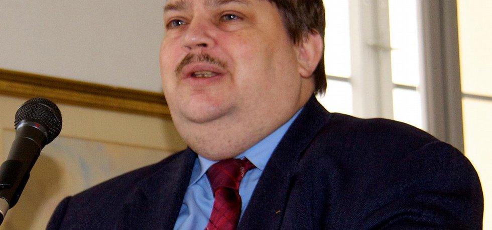 Mluvčí Sudetoněmeckého krajanského sdružení Bernd Posselt