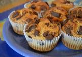 Čokoládové muffiny s banánem