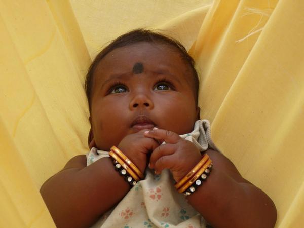 dítě, Indie