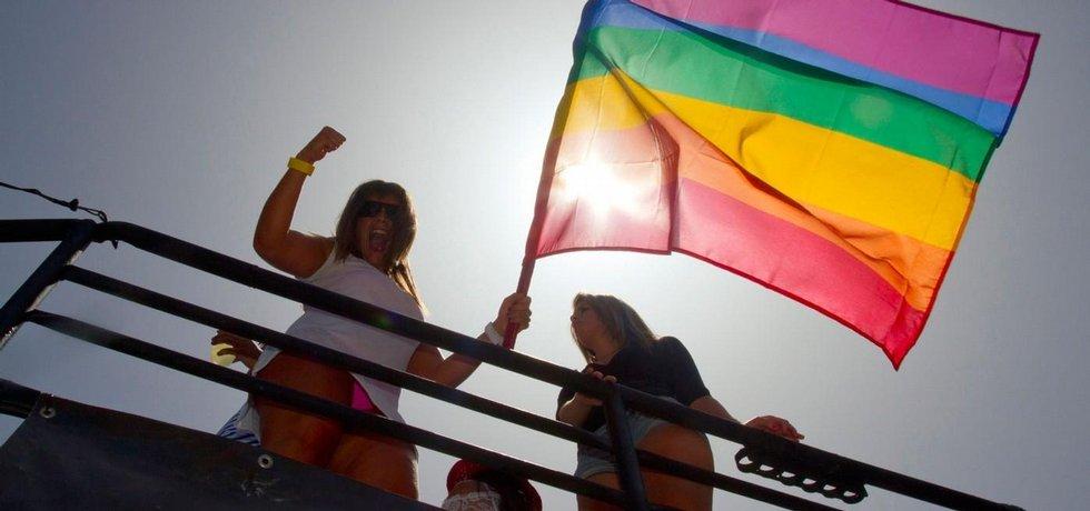 Gay Pride - ilustrační obrázek