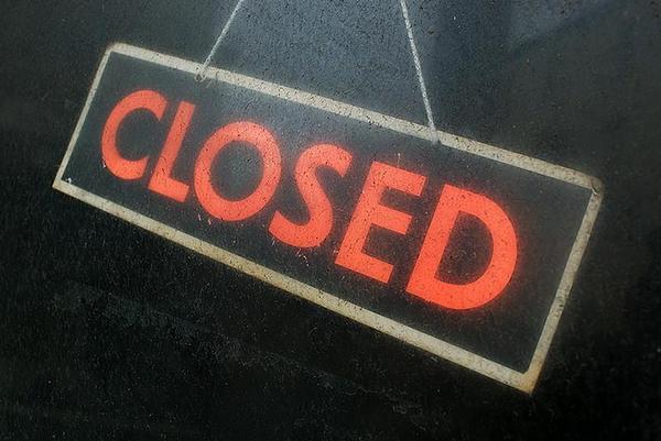 značka, closed, zavřeno