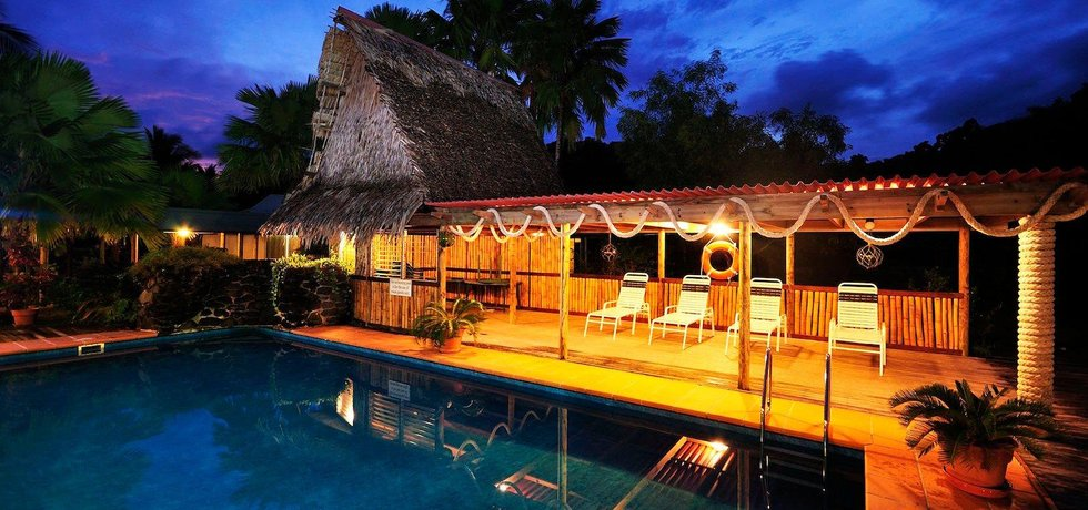 Luxusní resort Nautilus na ostrově Kosrae (Zdroj: Kosrae Nautilus Resort)