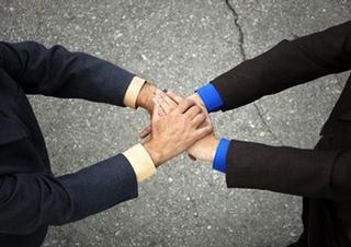 dohoda, důvěra, ručitel, ruce,