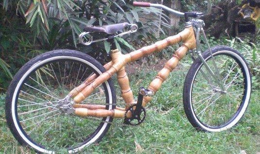 Bambusové bicykly
