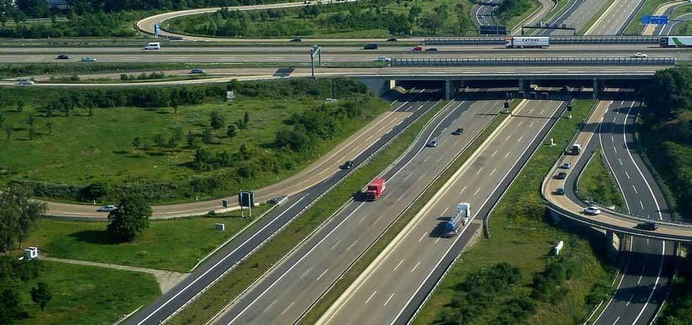 německá dálnice (ilustrační foto)
