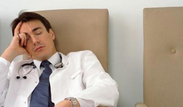lékař, únava, deprese