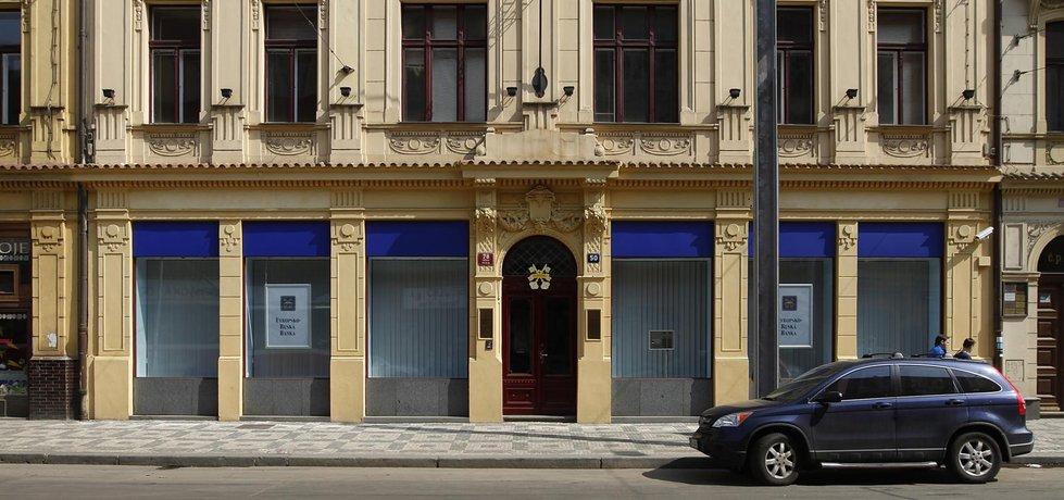 Pobočka ERB Bank v Praze
