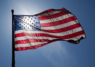 USA, Spojené státy americké, vlajka USA,