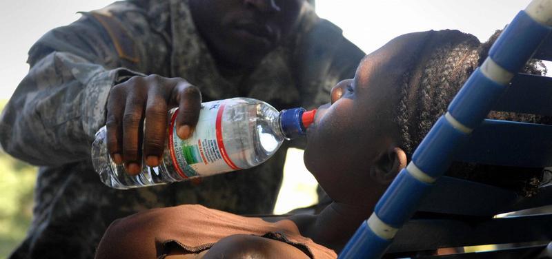 cholera, voják