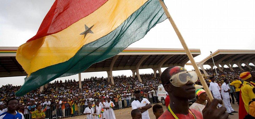 z nezávislosti Ghany