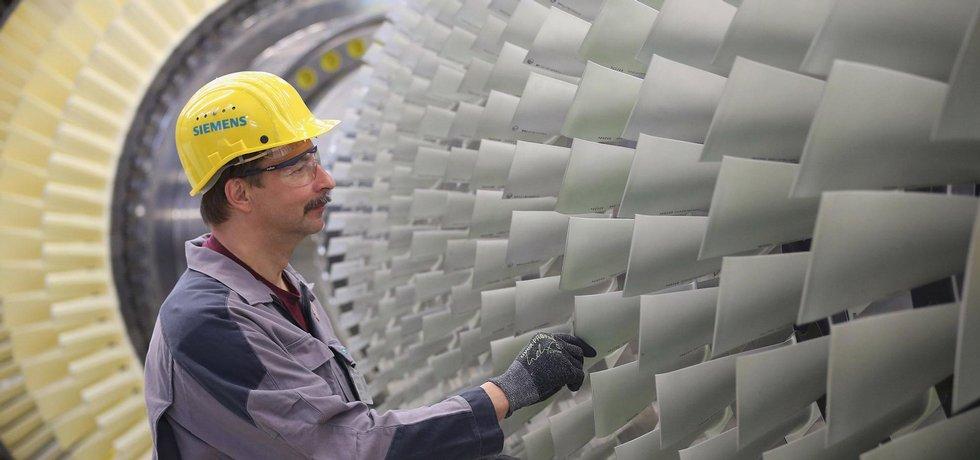 Továrna Siemensu v Berlíně