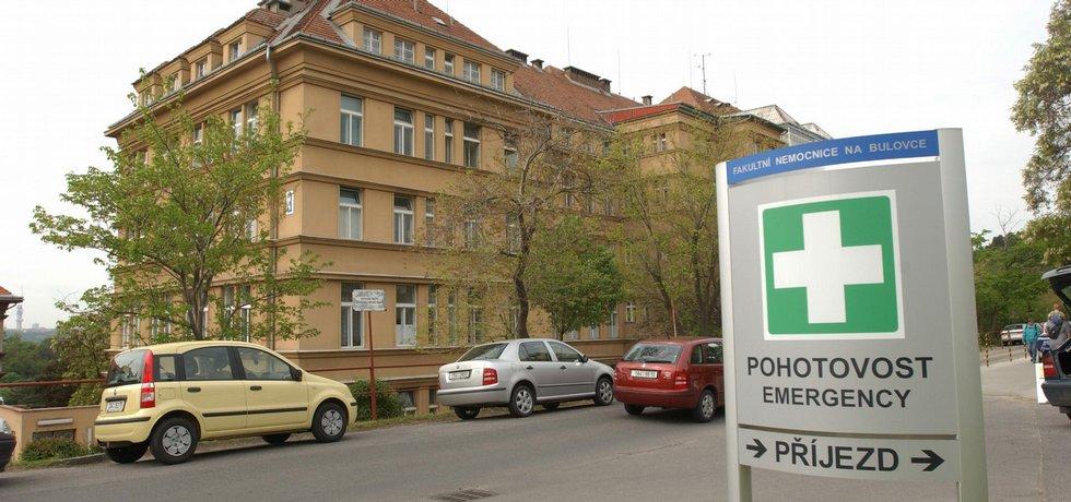 Fakultní nemocnice Bulovka v Praze.