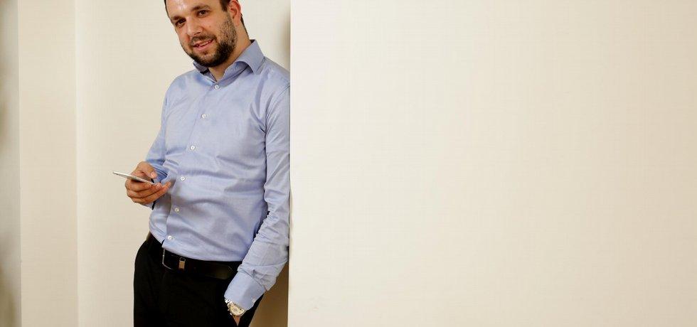 Filip Dřímalka, specialista na digitální inovace.