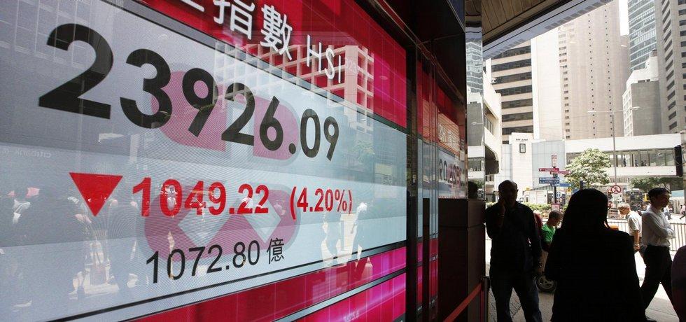 Index burzy v HongKongu