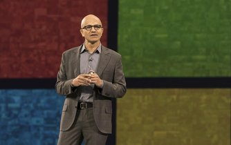 Satya Nadella, šéf Microsoftu.