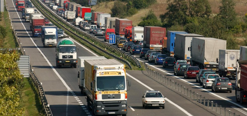 Německá minimální mzda údajně ovlivní i dopravce, kteří touto zemí jen projíždějí.