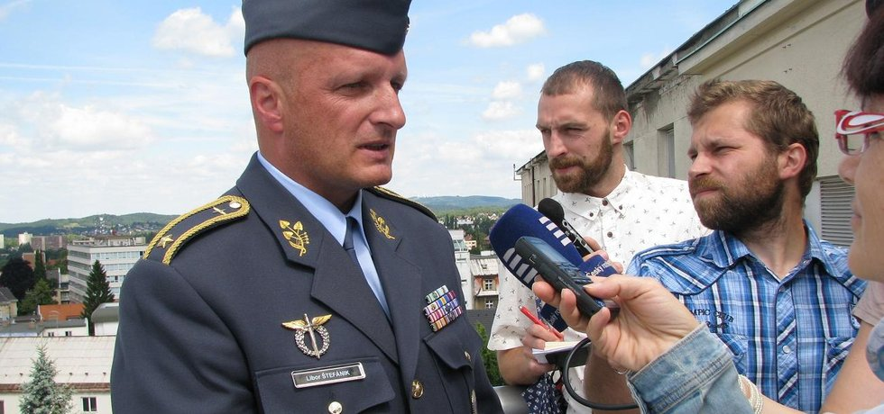 Bývalý velitel českých vzdušných sil Libor Štefánik (Zdroj: Zdravotní záchranná služba Libereckého kraje)