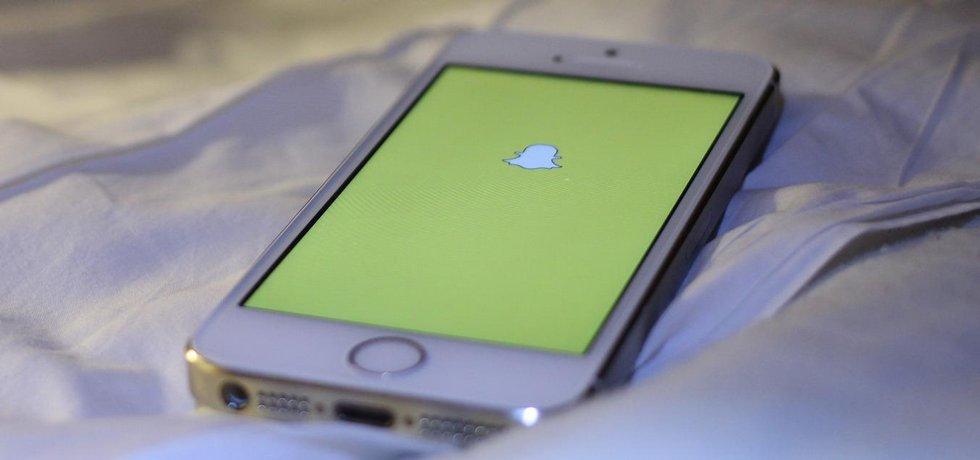 Mobilní aplikace Snapchat