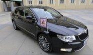 Prezidentská limuzína Škoda Superb