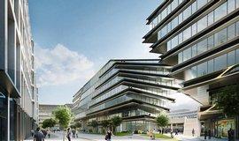 Penta přestaví za miliardy centrum Prahy, komplex navrhla Zaha Hadid