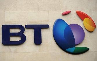 Logo britské telekomunikační společnosti BT