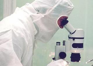 vědec, věda, mikroskop, výzkum