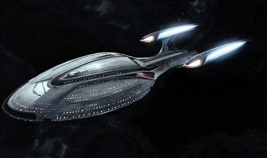 vesmírná loď Enterprise ze Star Treku