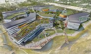 Architektonická podoba nového komplexu Bay View Campus (Foto: NBBJ, Vanity Fair)